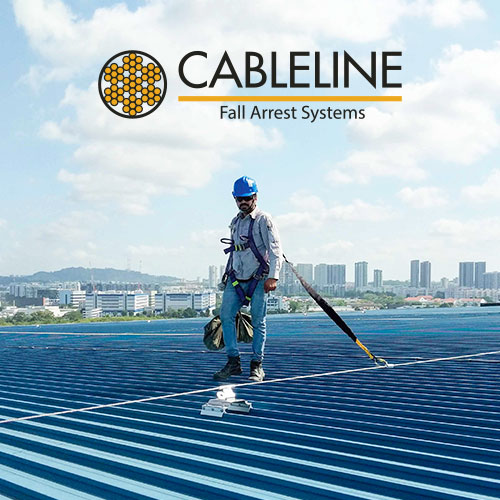 CABLELINE Optima II  (Lifeline on Metal Roof)