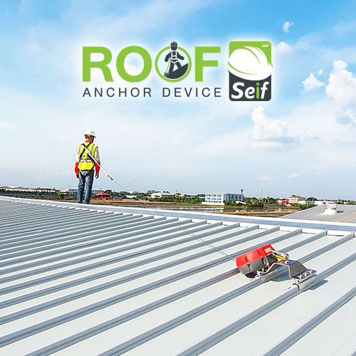 ROOF Seif - Anchor Device on Metal Roof
