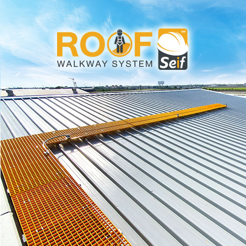 ROOF Seif - Walkway with Lifeline System
